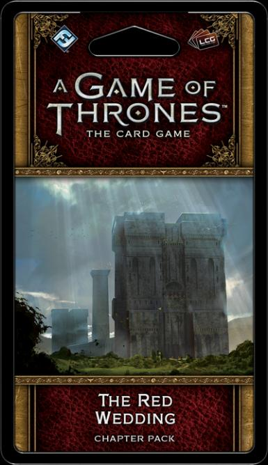 A GAME OF THRONES LCG 2ND. ED – THE RED WEDDING CHAPTER PACK