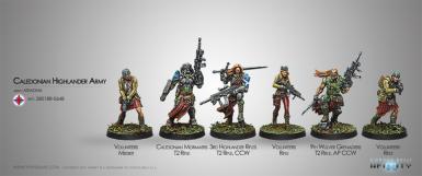 ARIADNA - CALEDONIAN HIGHLANDER ARMY STARTER SET (BOX)